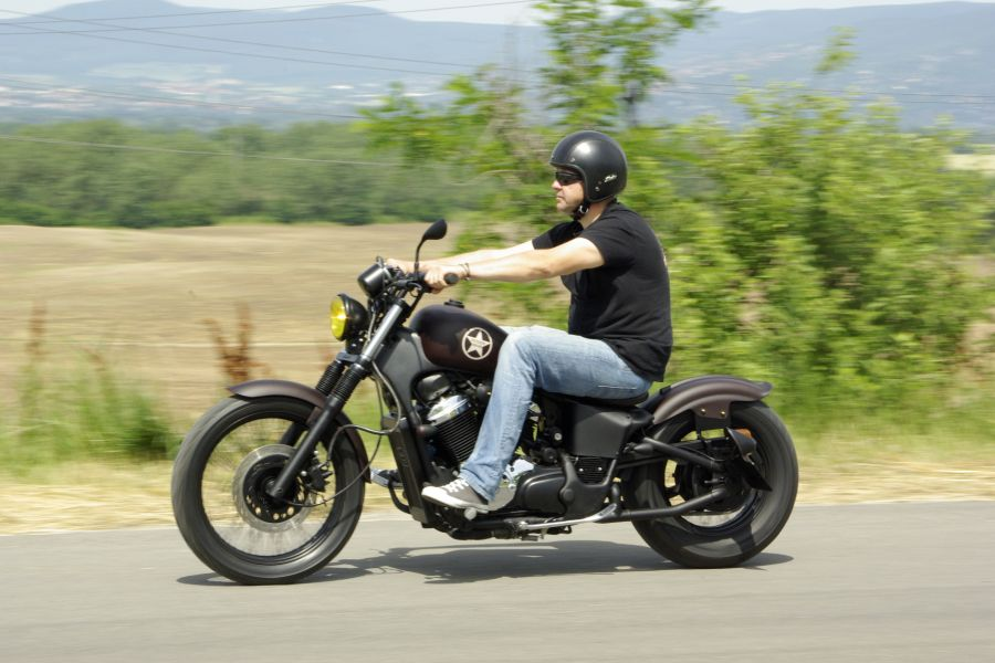 Our Honda Vlx Bobber Is Done And Called Steed Bob Honda Shadow